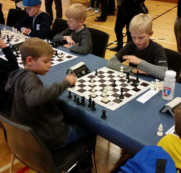 Jeppe Libach Makholm var med til DM for første gang. Han fik 3½ point ud af 8.